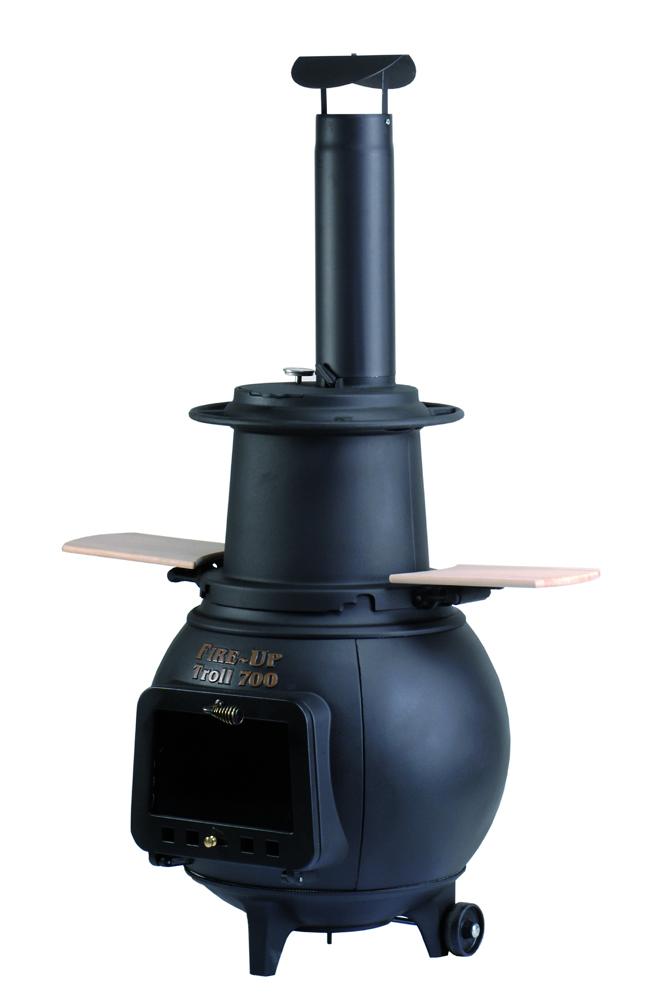 Räucherset für TROLL inkl. Thermometer und Räucherstangen
