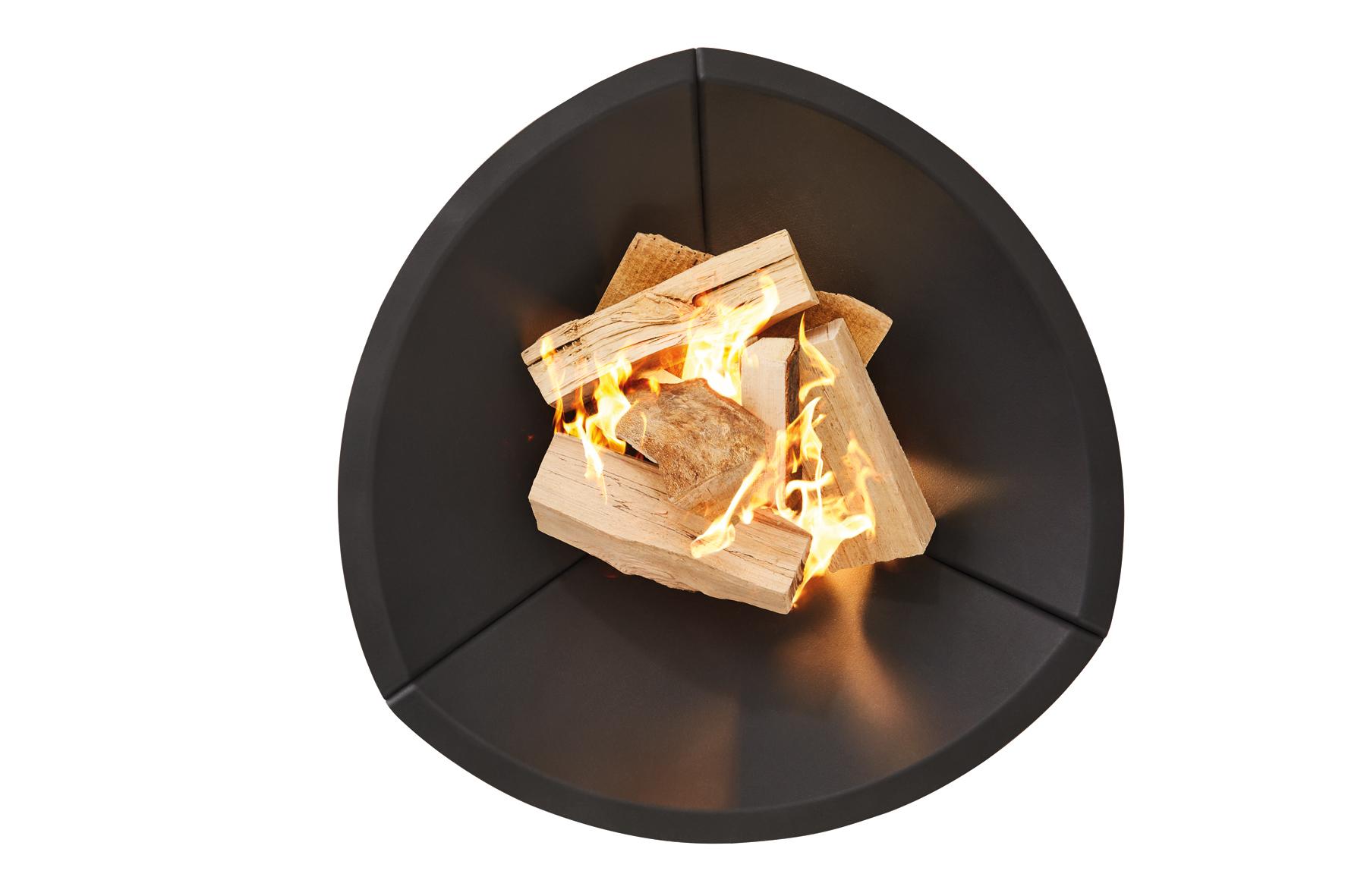 OutFire Guss-Feuerschale TRIGON