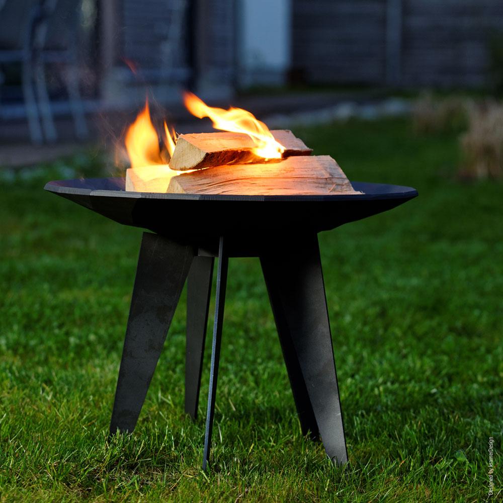 OutFire Guss-Feuerschale